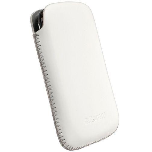 Productafbeelding van de Krusell Avenyn Pouch White Medium