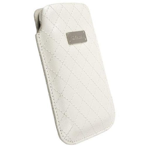 Productafbeelding van de Krusell Avenyn Pouch White XL