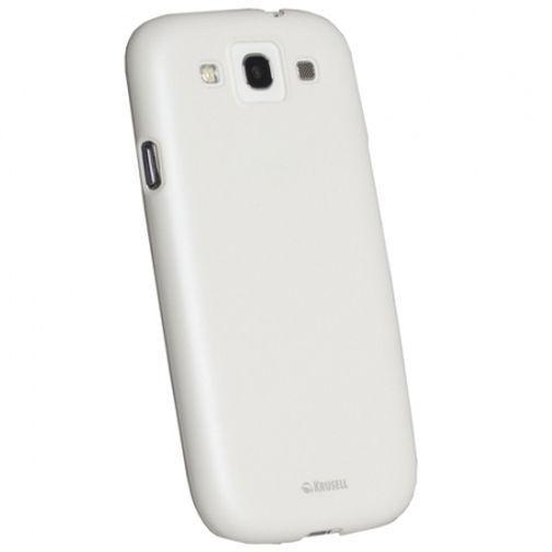 Productafbeelding van de Krusell Colorcover Samsung Galaxy S III White
