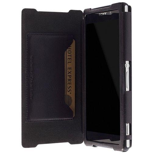 Productafbeelding van de Krusell Kiruna Flip Wallet Xperia Z2 Black