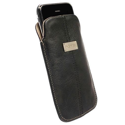 Productafbeelding van de Krusell Luna Pouch Black Large