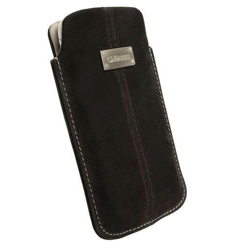 Productafbeelding van de Krusell Luna Pouch Nubuck Black XL
