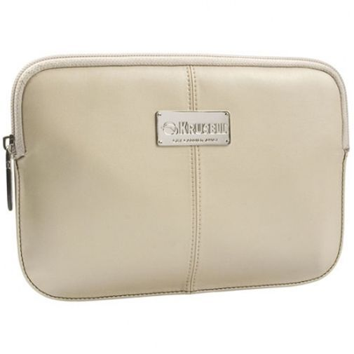 Productafbeelding van de Krusell Luna Tablet Sleeve 7 Inch Cream Black