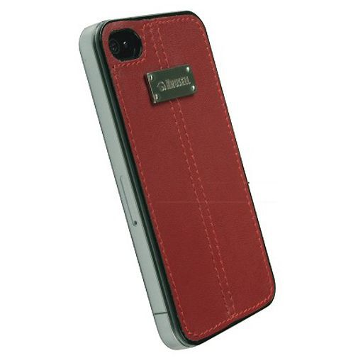Productafbeelding van de Krusell Luna UnderCover Red iPhone 4