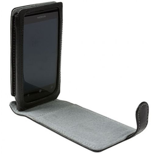 Productafbeelding van de Krusell Orbit Flex case Nokia Lumia 800 Black/Grey