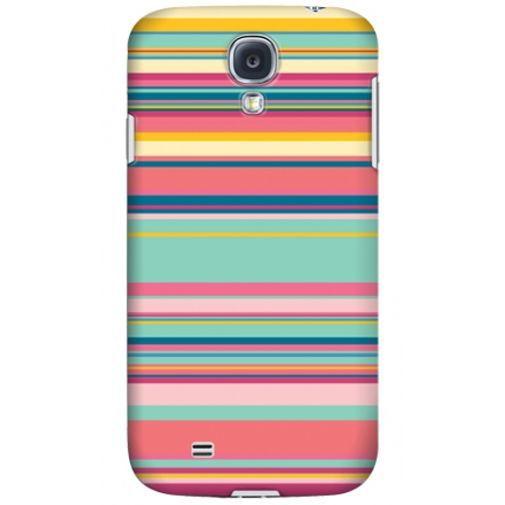 Productafbeelding van de Krusell Printcover Samsung Galaxy S4 Pink Stripe