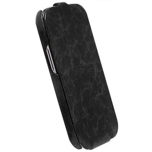 Productafbeelding van de Krusell Tumba Slimcover Samsung Galaxy S III Vintage Black