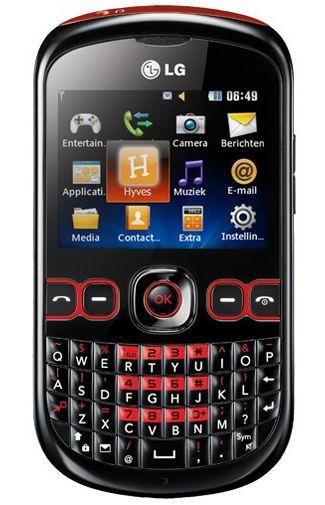 Productafbeelding van de LG C300 InTouch Black Red