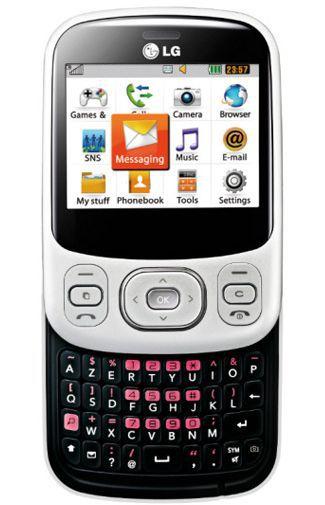 Productafbeelding van de LG C320 InTouch Lady White Black