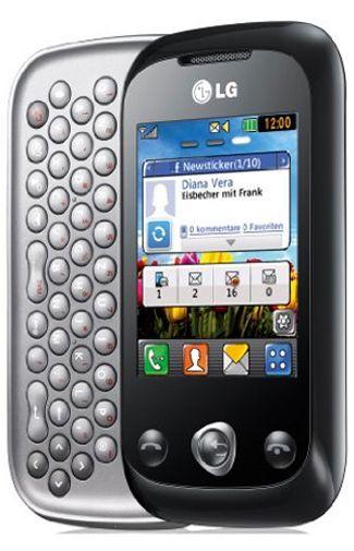 Productafbeelding van de LG C330 Black Silver