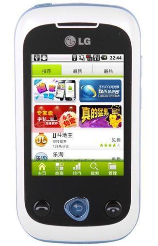 Productafbeelding van de LG C330 Blue