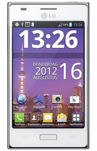 Productafbeelding van de LG E610 Optimus L5 White