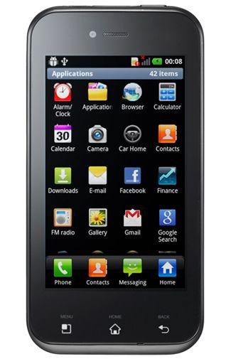 Productafbeelding van de LG E730 Optimus Sol Black