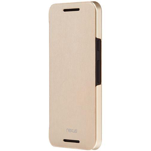 Productafbeelding van de LG Flip Case Gold Nexus 5X