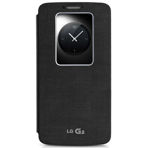 Productafbeelding van de LG G2 Quick Window Flip Cover Black