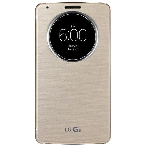 Productafbeelding van de LG G3 Quick Circle Case Gold