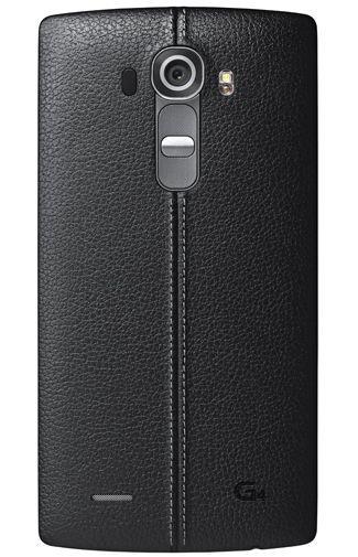 Productafbeelding van de LG G4 Dual Sim Leather Black