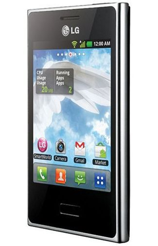 Productafbeelding van de LG E405 Optimus L3 Dual Sim Black