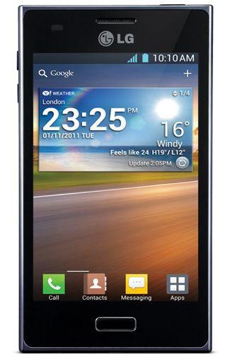 Productafbeelding van de LG E610 Optimus L5 Black