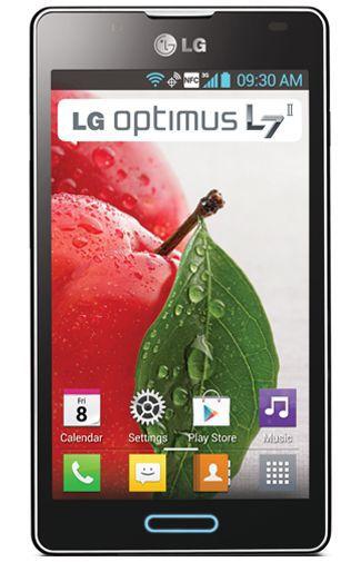 Productafbeelding van de LG P710 Optimus L7 II Black Titan