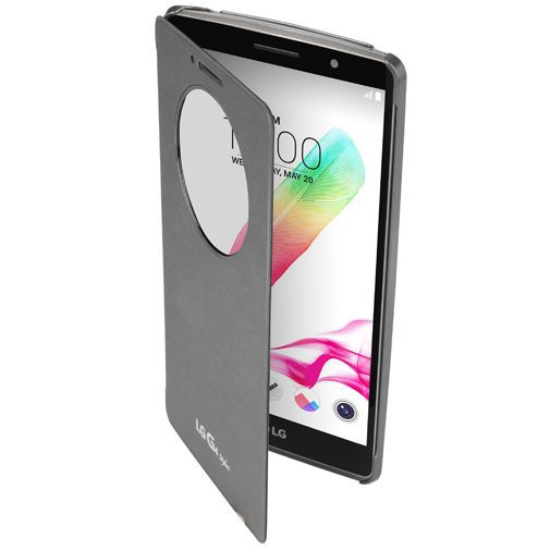 Productafbeelding van de LG Quick Circle Case Silver G4 Stylus