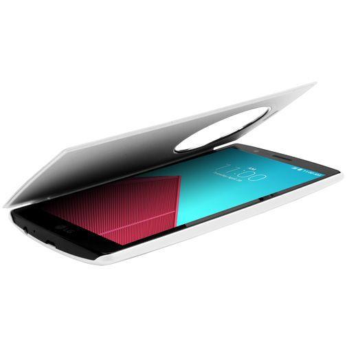 Productafbeelding van de LG Quick Circle Case White LG G4