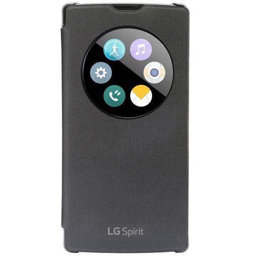 Productafbeelding van de LG Quick Window Cover Black LG Spirit