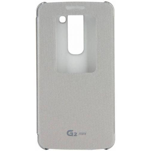 Productafbeelding van de LG Quick Window Flip Cover LG G2 Mini Silver