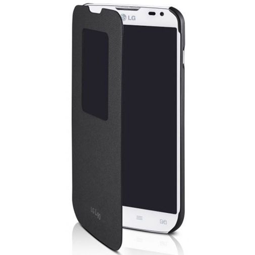 Productafbeelding van de LG Quick Window Flip Cover LG L90 Black