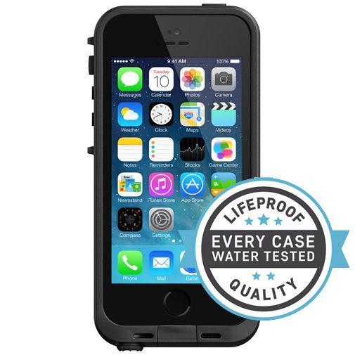 Productafbeelding van de Lifeproof Fre Case Black Apple iPhone 5/5S/SE