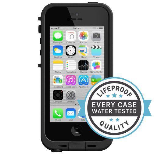 Productafbeelding van de Lifeproof Fre Case Black Clear Apple iPhone 5C