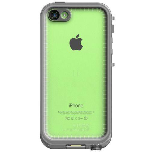 Productafbeelding van de Lifeproof Fre Case White Clear Apple iPhone 5C