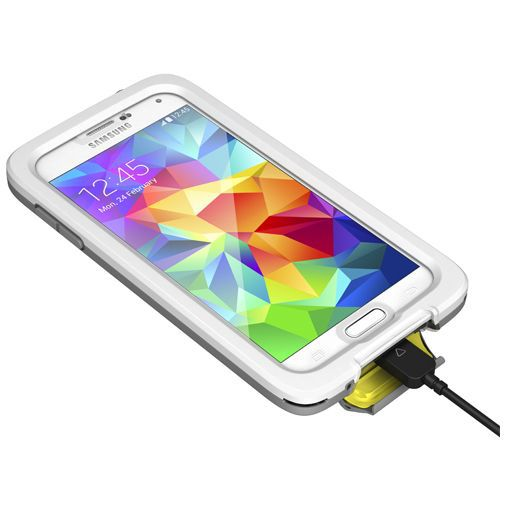 Lifeproof Fre Case White Clear Samsung Galaxy S5/S5 Plus/S5 Neo