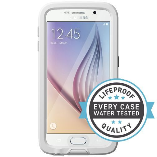 Productafbeelding van de Lifeproof Fre Case White Clear Samsung Galaxy S6