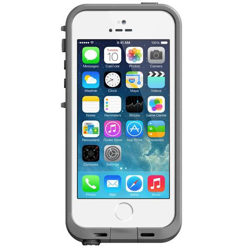 Productafbeelding van de Lifeproof Fre Case White Grey Apple iPhone 5/5S/SE
