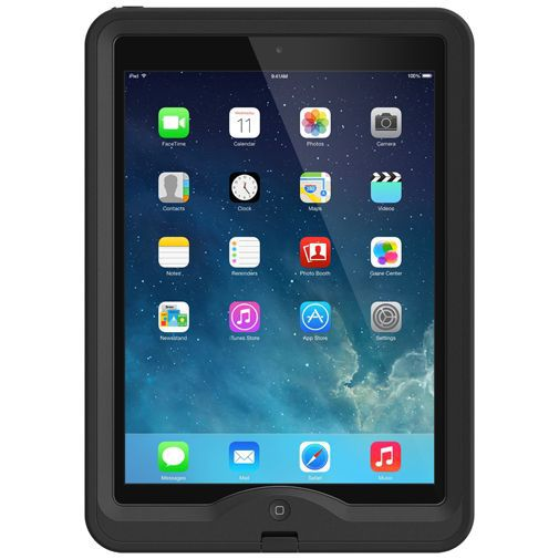 Productafbeelding van de Lifeproof Nuud Case Black Apple iPad Air