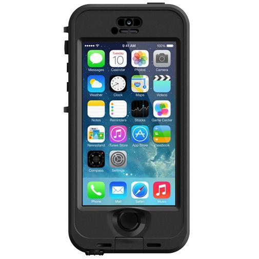 Productafbeelding van de Lifeproof Nuud Case Black Apple iPhone 5/5S/SE