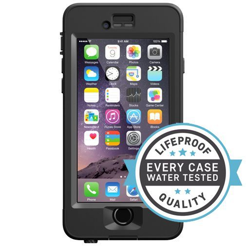 Productafbeelding van de Lifeproof Nuud Case Black Apple iPhone 6/6S