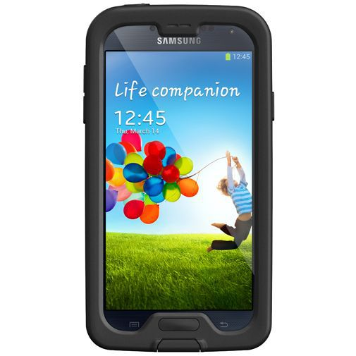 Productafbeelding van de Lifeproof Nuud Case Black Samsung Galaxy S4