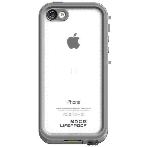 Productafbeelding van de Lifeproof Nuud Case White Clear Apple iPhone 5C