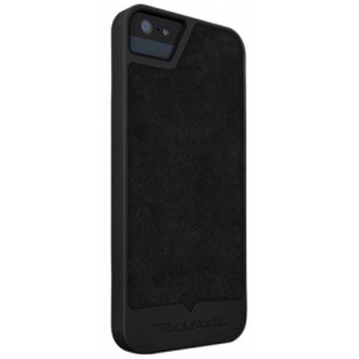 Productafbeelding van de Maserati Calandra S Back Case Apple iPhone 5/5S Grey