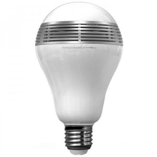 Productafbeelding van de MiPow Playbulb Bluetooth Smart LED Speaker Lite White Silver