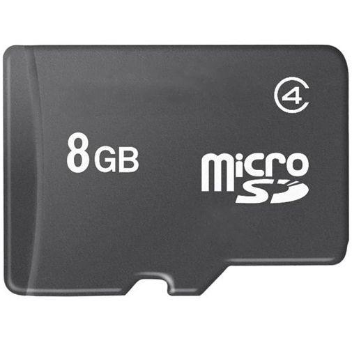 Productafbeelding van de MicroSD 8GB met Adapter