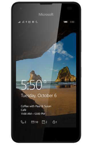Productafbeelding van de Microsoft Lumia 550 Black