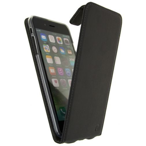 Produktimage des Mobilize Classic Gelly Flip Case Schwarz Apple iPhone 7 Plus/8 Plus