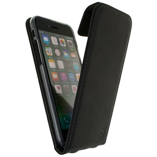 Productafbeelding van de Mobilize Classic Gelly Flip Case Black Apple iPhone 7/8/SE 2020