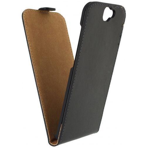 Productafbeelding van de Mobilize Classic Flip Case Black Huawei Nexus 6P