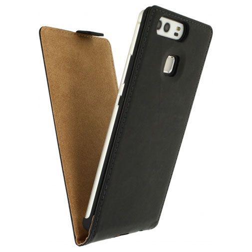 Productafbeelding van de Mobilize Classic Flip Case Black Huawei P9
