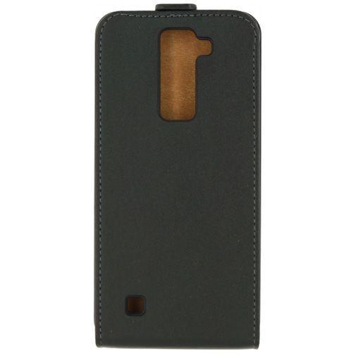Productafbeelding van de Mobilize Classic Flip Case Black LG K8