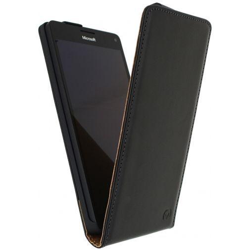 Productafbeelding van de Mobilize Classic Flip Case Black Microsoft Lumia 950 XL